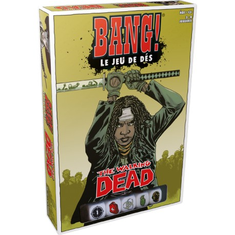 BANG - LE JEU DE DES - WALKING DEAD