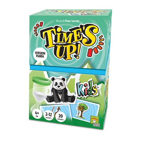 TIME'S UP KIDS PANDA