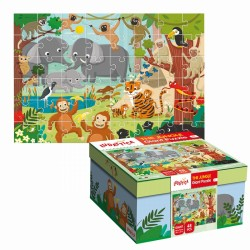 BABY GIANT PUZZLE LA JUNGLE