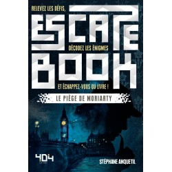 ESCAPE BOOK : LE PIEGE DE MORIARTY