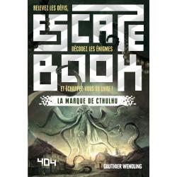 ESCAPE BOOK : LA MARQUE DE CTHULHU