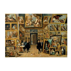 MICRO PUZZLE - Leopold Wilhem in his picture Gallery