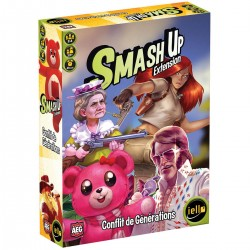 SMASH UP : CONFLIT DE GENERATION (EXT)