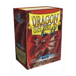 DRAGON SHIELD Red - 100 Sleeves