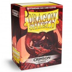 DRAGON SHIELD Crimson - 100 Sleeves