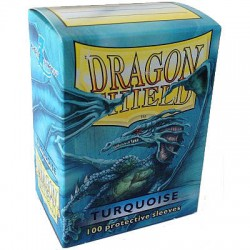 DRAGON SHIELD Turquoise - 100 Sleeves
