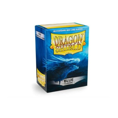 DRAGON SHIELD blue - 100 Sleeves