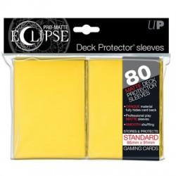ULTRA PRO sleeves ECLIPSE (jaune) 66X91