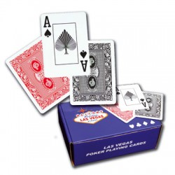 CARTES POKER 100% PLASTIQUE ECO
