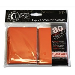 ULTRA PRO sleeves ECLIPSE (orange) 66X91
