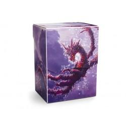 Dragon Shield Deck Shell - Clear Purple Ed. Limité