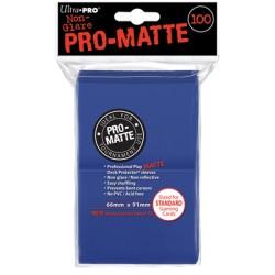 ULTRA PRO sleeves Matte Standard (Bleu) 66X91