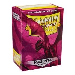 DRAGON SHIELD MATTE Magenta - 100 Sleeves