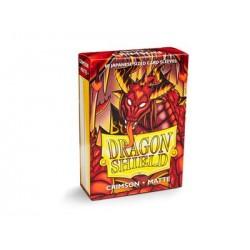 DRAGON SHIELD MATTE crimson - 100 Sleeves
