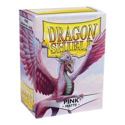 DRAGON SHIELD MATTE pink - 100 Sleeves