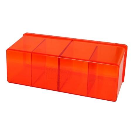 Dragon Shield Box 4 Compartments - Orange