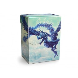 Dragon Shield Deck Shell - Clear Blue Ed. Limitée
