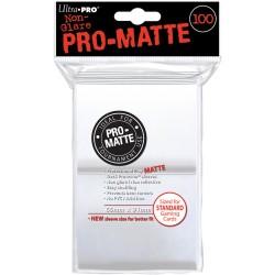 ULTRA PRO sleeves Matte Standard (blanche) 66X91