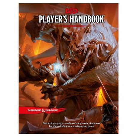 DUNGEONS & DRAGONS :PLAYERS HANDBOOK English
