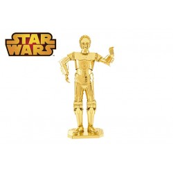 METAL EARTH : Star Wars C-3PO d'Or