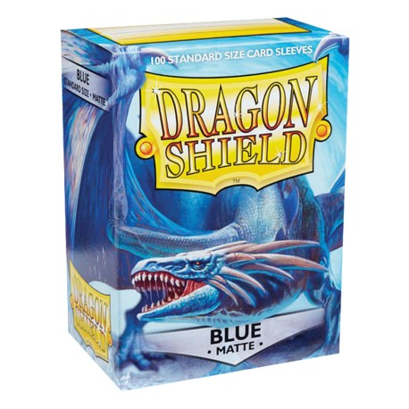 Dragon Shield MATTE - Blue - 100 Sleeves