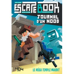 ESCAPE BOOK : JOURNAL D'UN NOOB - LE MEGA TEMPLE MAUDIT