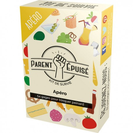 PARENT EPUISE : KIT DE SURVIE APERO