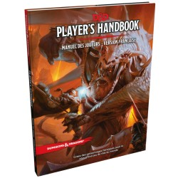 DUNGEONS & DRAGONS : PLAYER'HANDBOOK 5EME ed. FR