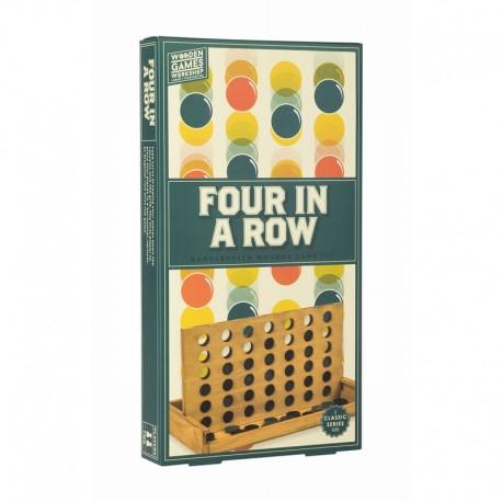 4 A LA SUITE - FOUR IN A ROW PROFESSOR PUZZLE