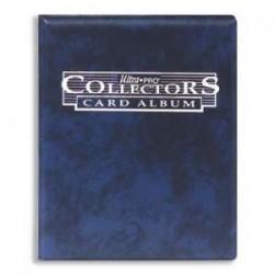 Cahier range-cartes bleu 180 cartes