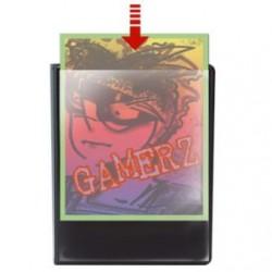 Cahier range-cartes personnalisable 180 cartes