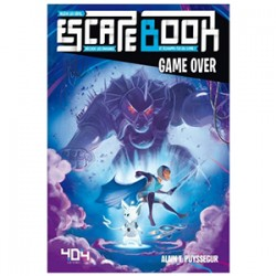 ESCAPE BOOK GAME OVER