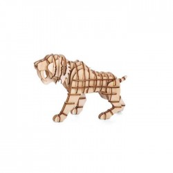 PUZZLE 3D TIGER DENTS DE SABRE