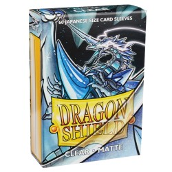 DRAGON SHIELD MATTE Japanese - clear - 60 Sleeves