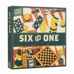 SIX IN ONE - COFFRET 6 JEUX