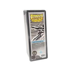 Dragon Shield Box 4 Compartments - silver