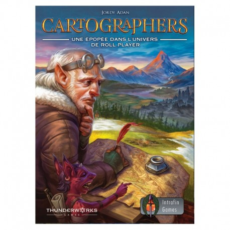 CARTOGRAPHERS : a roll player's tale jeu de plateau