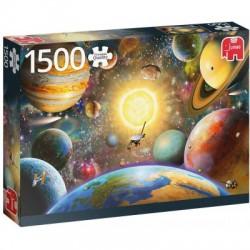 Puzzle 1500 pièces - Flotter dans l'espace