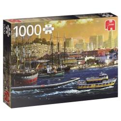 Puzzle 1000 pièces - Port de San Francisco