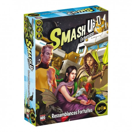 SMASH UP : RESSEMBLANCES FORTUITES ! (EXT 7)