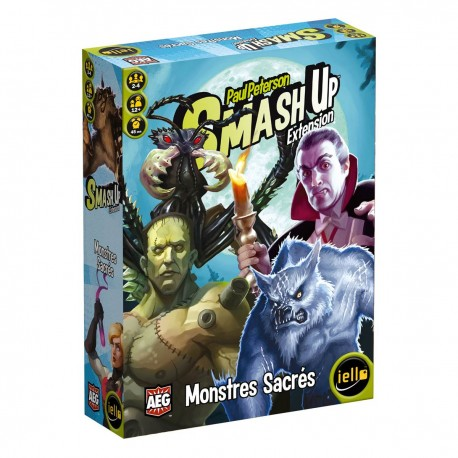 SMASH UP : MONSTRES SACRES (EXT 4)