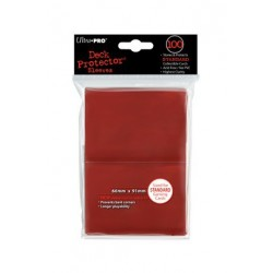 ULTRA PRO sleeves Standard (Rouge) 66X91