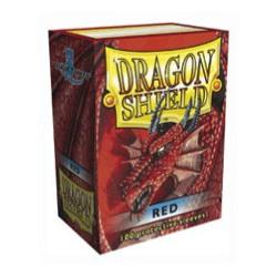 DRAGON SHIELD Red - 100 Sleeves