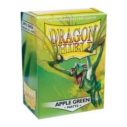 DRAGON SHIELD MATTE apple green - 100 Sleeves