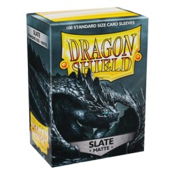 DRAGON SHIELD MATTE slate - 100 Sleeves
