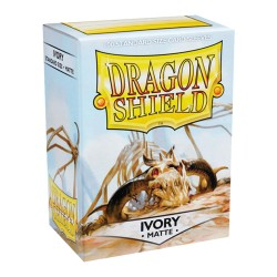 DRAGON SHIELD MATTE ivory - 100 Sleeves