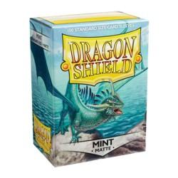 DRAGON SHIELD MATTE mint - 100 Sleeves