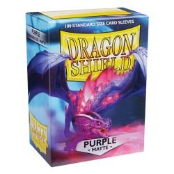 Dragon Shield MATTE - Purple - 100 Sleeves