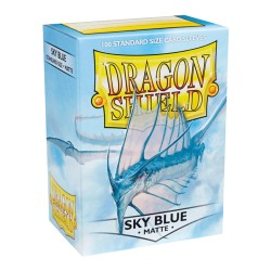 Dragon Shield MATTE - Sky Blue - 100 Sleeves