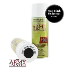 BOMBE MATT BLACK - ARMY PAINTER
